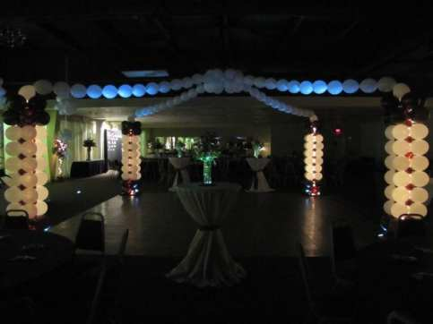 Dance the night away on a romantic dance floor