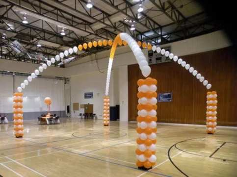 Transform a gym into a fun place to party!