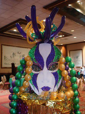 Mardi Gras events are a top theme to decorate