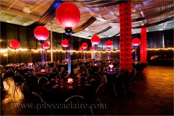 From centerpieces to hiding support columns, balloon decor creates magic!
