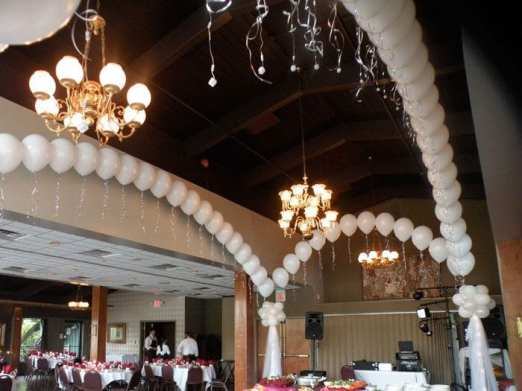 Dance floor canopies make a reception fun, fun!