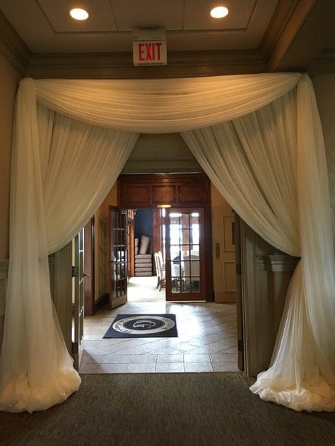 Knoxville Wedding Decor  Fabric Draping  Wedding Themes