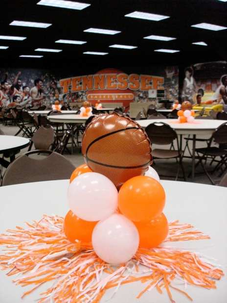 Custom made centerpieces available