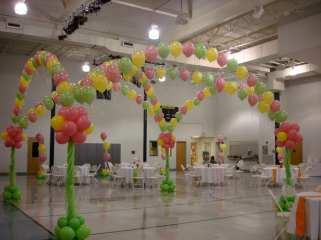 """Dance floor canopies say, """"Party!"""""""