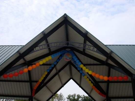 Decor can brighten pavilions and tents