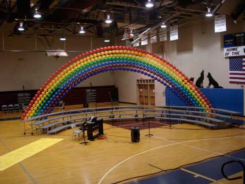 Let us create concert decor for you