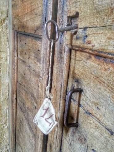 Key to Room 14, Le Grotte della Civita, Matera-min