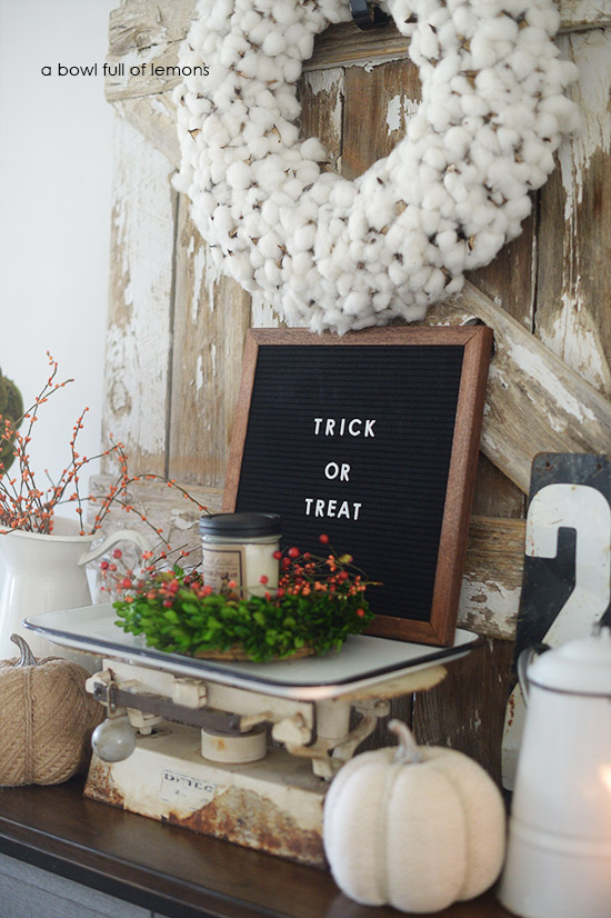Decorating With Letter Boards A Bowl Full Of Lemons