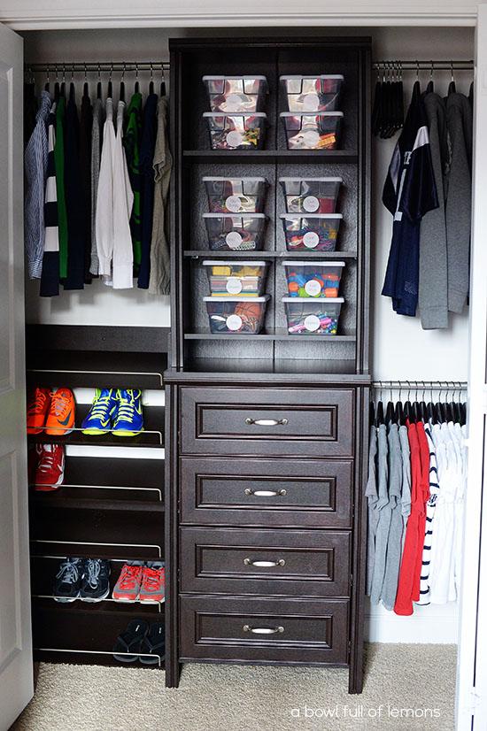 Systems Small Closet Closets