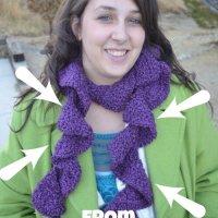 Beautiful Knit Scarf Giveaway!!!