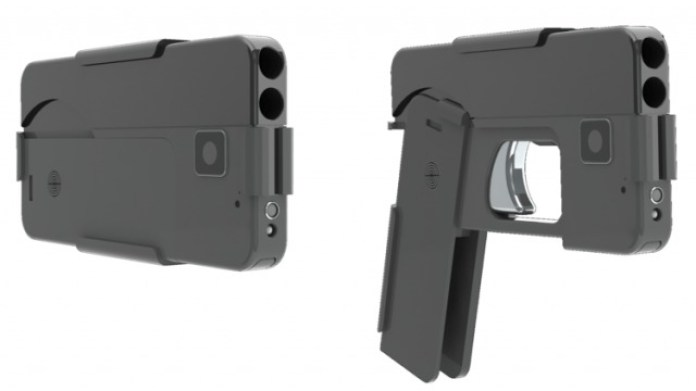 Pistolas con forma de iPhone en USA