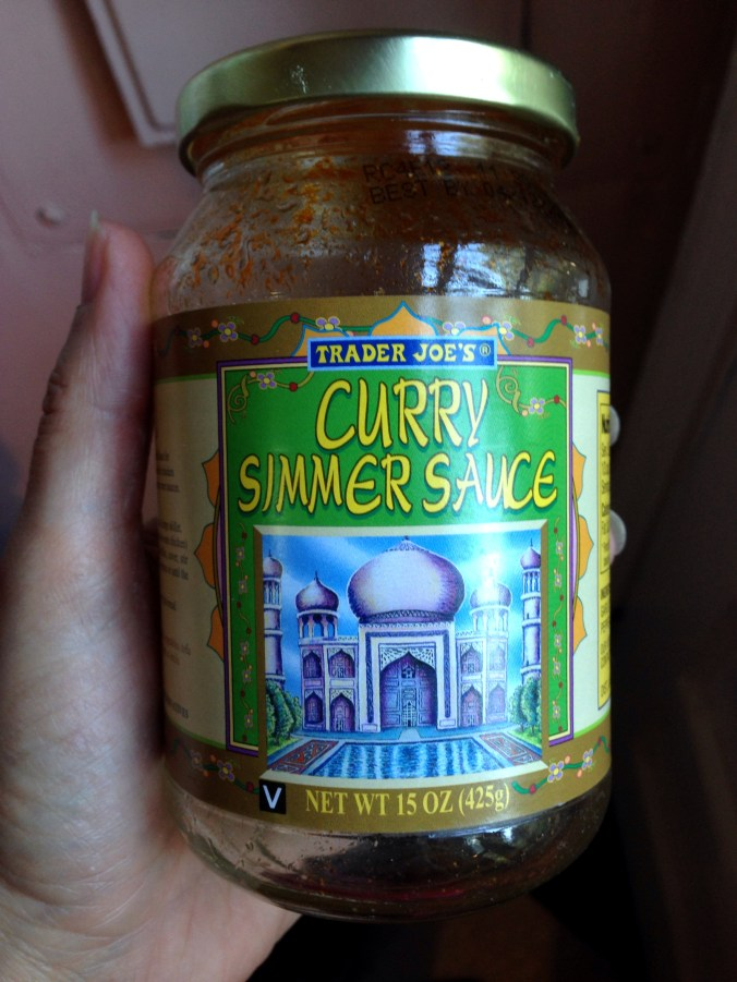 trader joe's vegan curry simmer sauce