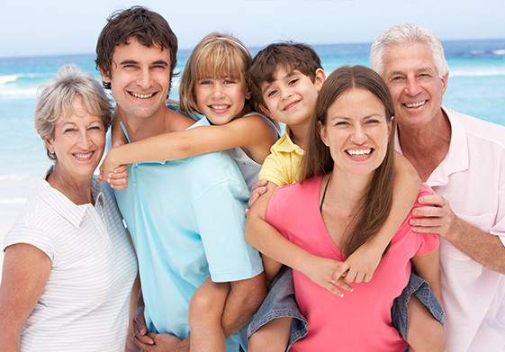 Multiple generations of a family benefit from estate planning