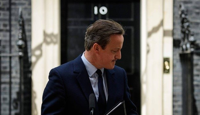 UK PM David Cameron Resigns As Britain Leaves EU