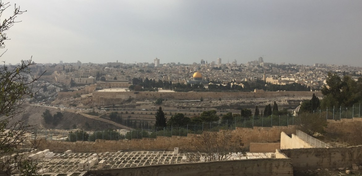 Cassino – Jerusalem: Day 94 Jerusalem