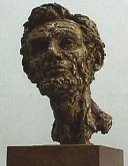 Abraham Lincoln Bust By Berks In Frankfort Kentucky