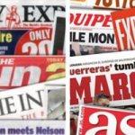 صحافة أوروبا واهم الاحداث الرياضية