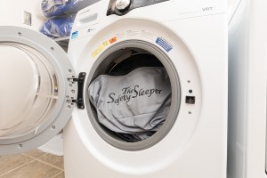 The Safety Sleeper is Machine Washable