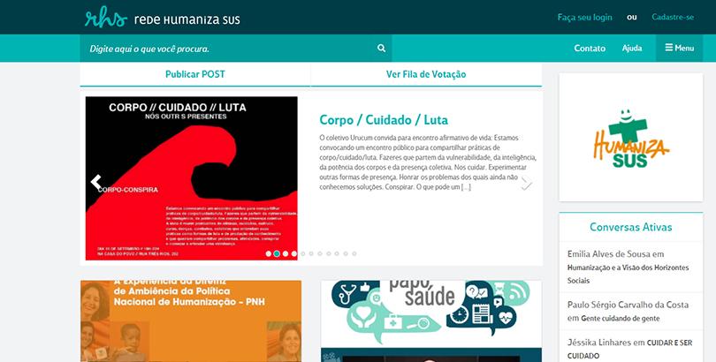 Rede Humaniza SUS atualiza plataforma e lança série de vídeos do SUS que dá certo
