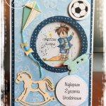 KARTKA URODZINOWA DLA DZIECKA TYPU SHAKER CARD
