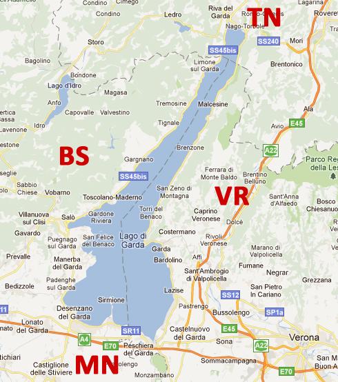 Lago Di Garda Sponda Bresciana Località Lago Di Garda Brescia