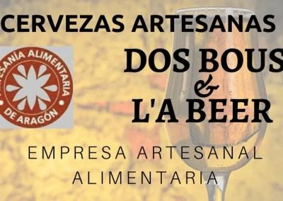 Dos Bous y L'A Beer, Sello de Empresa Artesanal Alimentaria