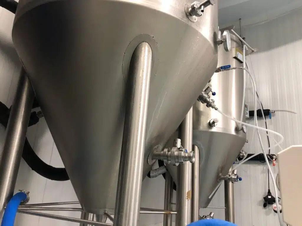 Fabricando cerveza Cerveza Tensina