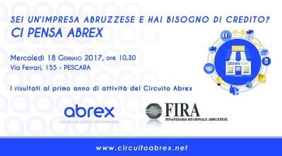 invito mercoledi 18 gennaio FIRA Abrex