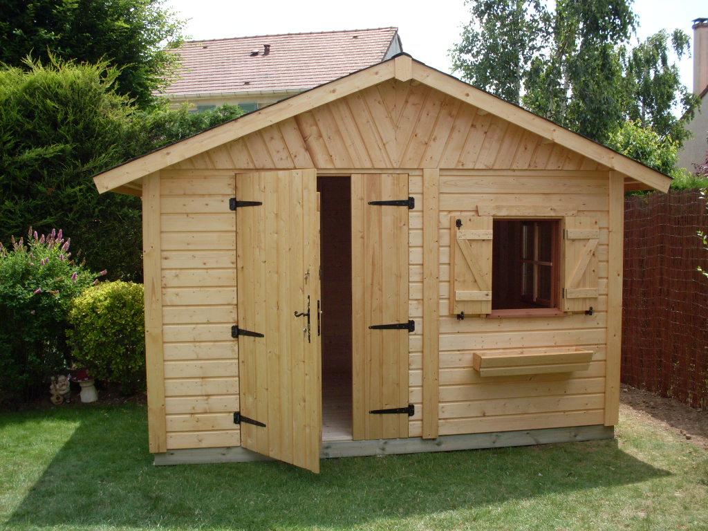 abri de jardin en bois nandy m