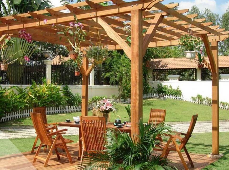 pergola en bois pas cher abri jardin bois france. Black Bedroom Furniture Sets. Home Design Ideas