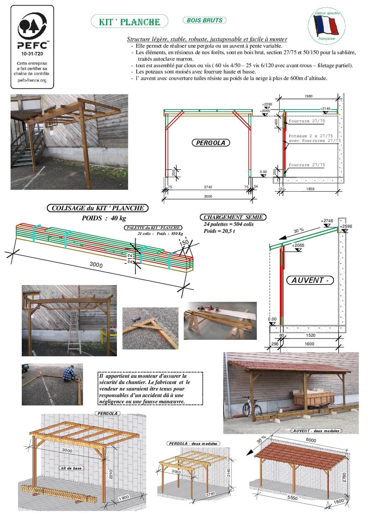 pergola avec toit abri jardin bois france. Black Bedroom Furniture Sets. Home Design Ideas