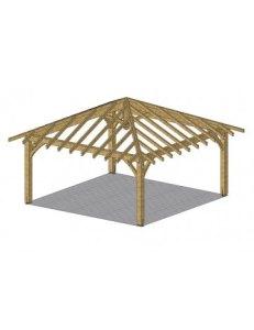 abri carbet en bois de 25 m abri jardin bois france. Black Bedroom Furniture Sets. Home Design Ideas