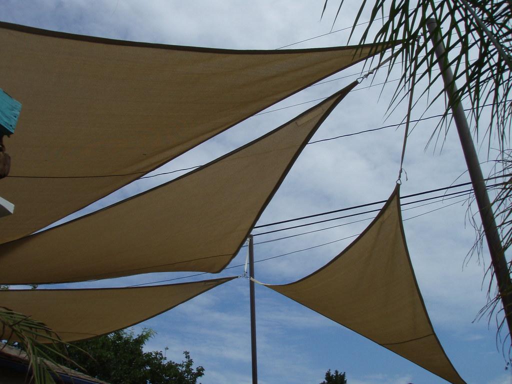 comment fixer voile d'ombrage
