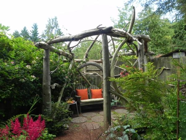 Tuteur Rosier Grimpant Abri Jardin Bois France