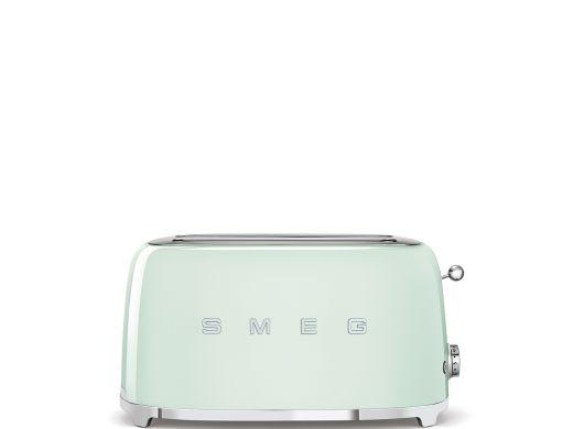 grille pain smeg tsf02pgeu vert d eau