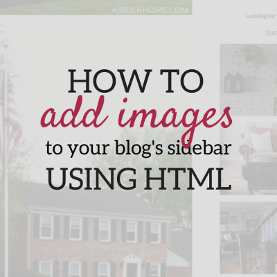 Tutorial: How to Add Images to Your WordPress Sidebar Using HTML