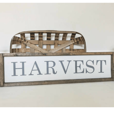 Rustic Thanksgiving Decorations from Etsy