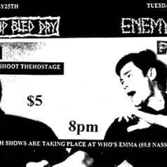 July 25th 1998. The Swarm at Who's Emma (Toronto, ON). With Burned Up Bled Dry, Shoot the Hostage