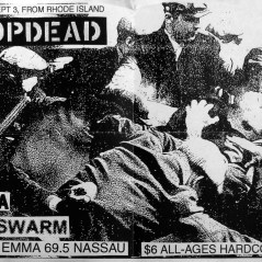 September 3rd 1998. The Swarm at Who's Emma (Toronto, ON). With Dropdead, Gojira, Walls Around Us