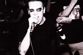 The Swarm live at The JCC, October 30th 1999. Photo courtesy of Travis Derouin.