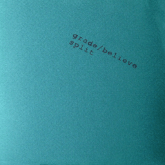 WR-001 Grade/Believe split CD, 1994. Blue cover