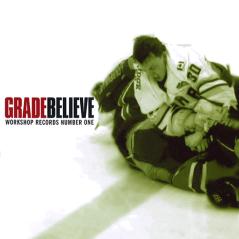 WR-001 Grade/Believe split CD, 1995. Repress digipak cover