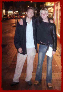 Chris Gray in London, England August 7th 2002