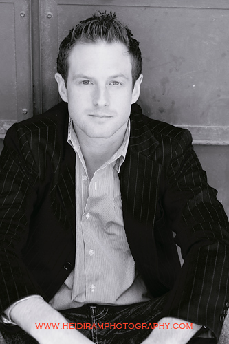 Chris Gray photographed by Heidi Ram in May of 2010