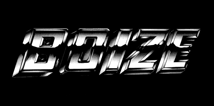 Boize's self-titled EP promotional sticker.