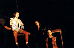 """Emissary promotional photoshoot for the """"Reach In"""" demo, September 1993. Photo by Kathy Knox"""