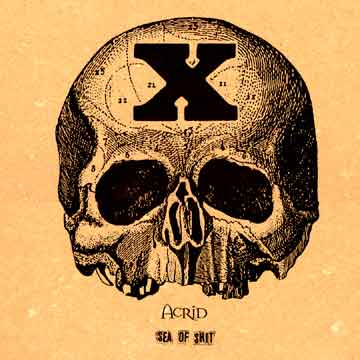 """Sea of Shit"" vinyl reissue, No Idea Records, March 2000"