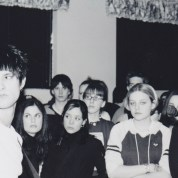 Jeff Legris when Ellington performed at the Lions Club Hall in 2001. Cassandra is on his immediate right. Photo courtesy of Ryan Hook