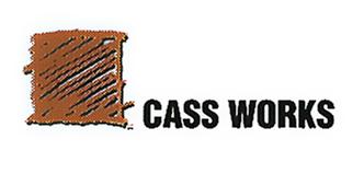 """Cass Works"" logo, circa 2000"