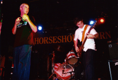 Louis Mistreated performing at the Horseshoe Tavern on January 23rd 2002, opening for The Gloria Record